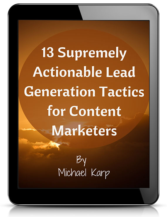 Lead Gen Tactics eBook Image