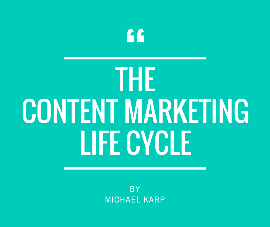 The Content Marketing Life Cycle | Copytactics