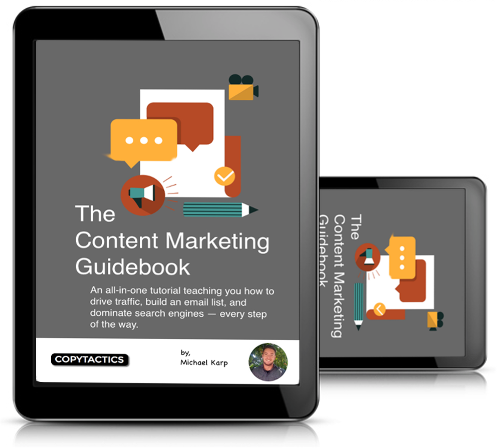 The Content Marketing Guidebook, by Michael Karp - Image